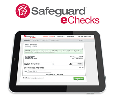 Safeguard eChecks